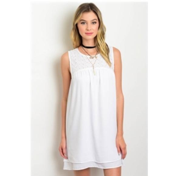 Dresses & Skirts - Pure white dress