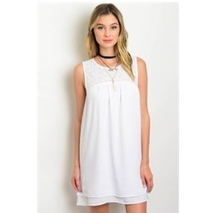 Dresses - Pure white dress
