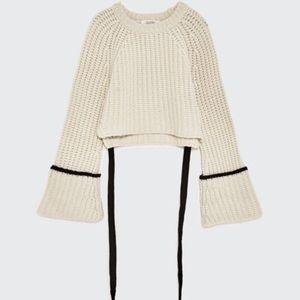 🆕 Zara Studio %100 Cashmere sweater