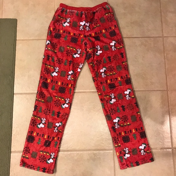 snoopy christmas pajama pants - Snoopy Christmas Pajamas