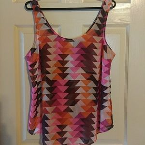 Adorable Old Navy multi colored tank top