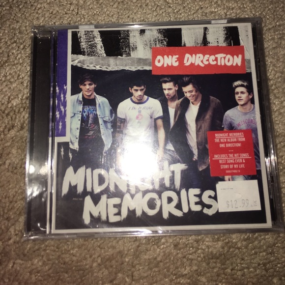 Midnight memories one direction cd NWT