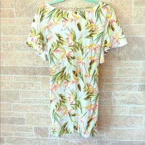 Zara desert 🌵 flower palm dress