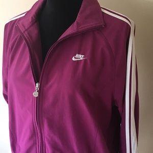Nike Vintage Look Stripe Track Jacket Large