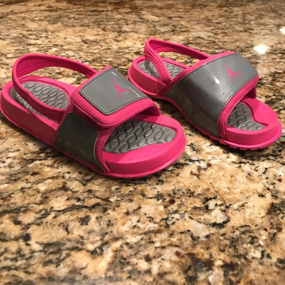 online store c2288 d8820 Girls Nike Jordan sandals 10c