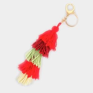 Tassel Keychain/Bag Charm