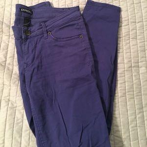 Purple Express Jeans
