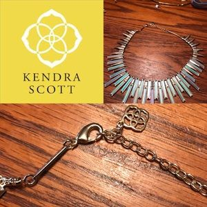 Kendra Scott Stick Bib Kaplan Necklace
