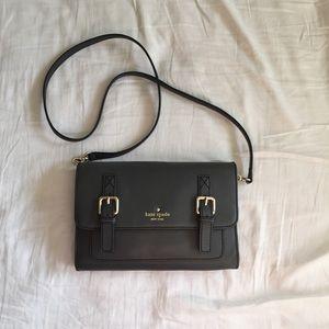 Kate Spade Grey Crossbody Bag, Medium