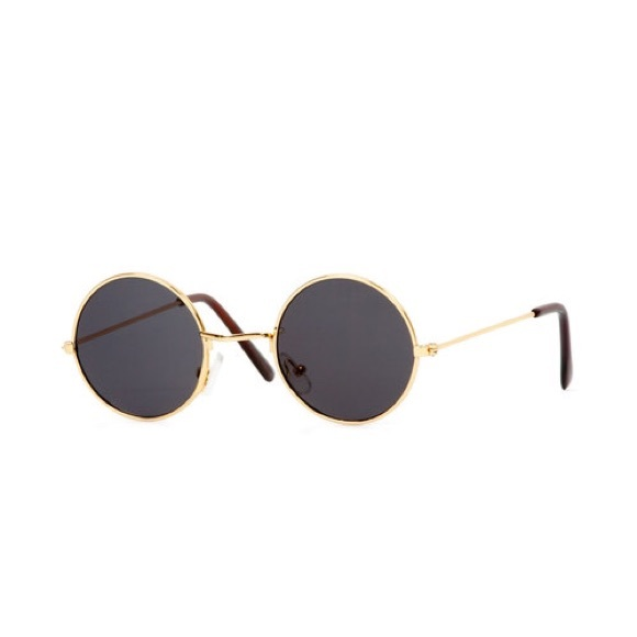 c5e97abf7e9 Black and Gold John Lennon Sunglasses