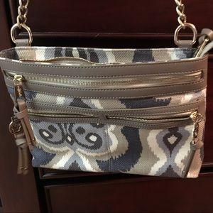 Spartina 449 New purse tan,cream and grey.