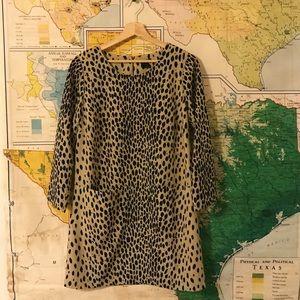 Mod Cheetah Print Dress