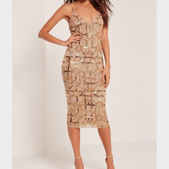441f6a69d1a425 Missguided Premium Strappy Embellished Midi Dress.  M_5955a5fac6c795741c011f80