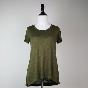 Madewell Olive Green Short Sleeve Tee