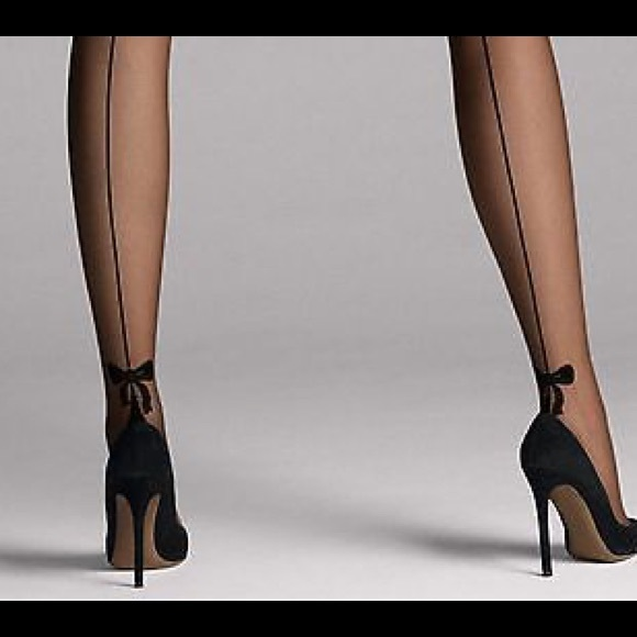 7a4ec971f NWT WOLFORD TESSY STAY-UP THIGH-HIGHS