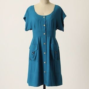 Maeve staysail shirt dress with cuffs and pockets