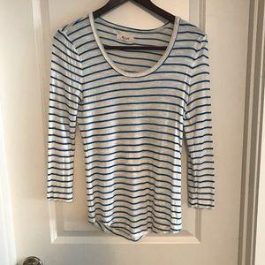 Madewell Stripe shirt size small