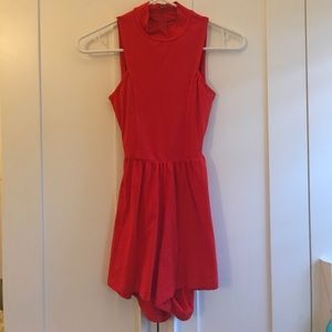 ASOS Petite Other - Red romper