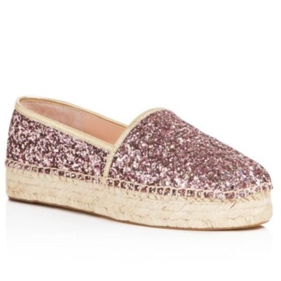 0465ca7e9 kate spade Shoes | Linds Too Glitter Espadrilles | Poshmark