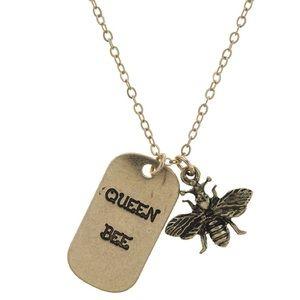 """Jewelry - """"Queen Bee"""" Pendant"""