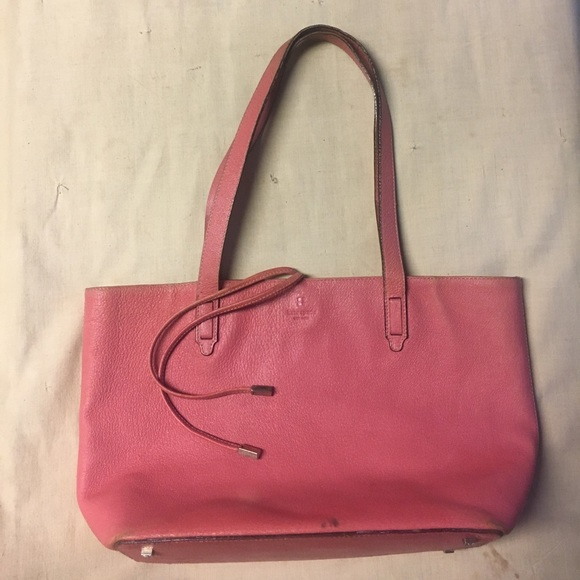 kate spade Handbags - Kate Spade Pink Leather Tote Purse