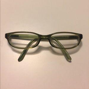 Gucci glasses in green