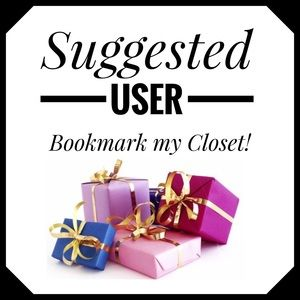 'Like' this listing to bookmark my closet!