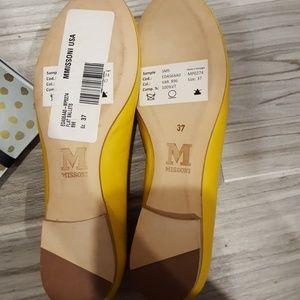 Missoni Shoes - Missoni dog flat ballets yellow pink sz37