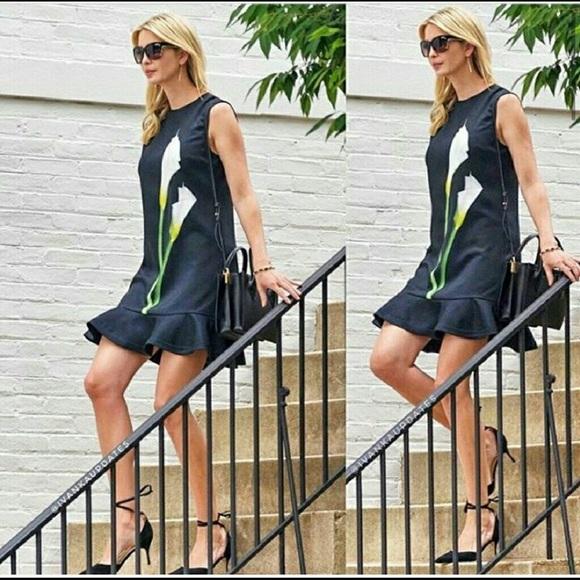 a12cdde160 Victoria Beckham x Target Black Calla Lilly Dress