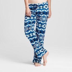 Blue Aztec Print Super Soft Cozy Plush Pant ✨NEW✨