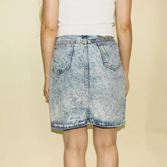Vintage Jean Skirts 85