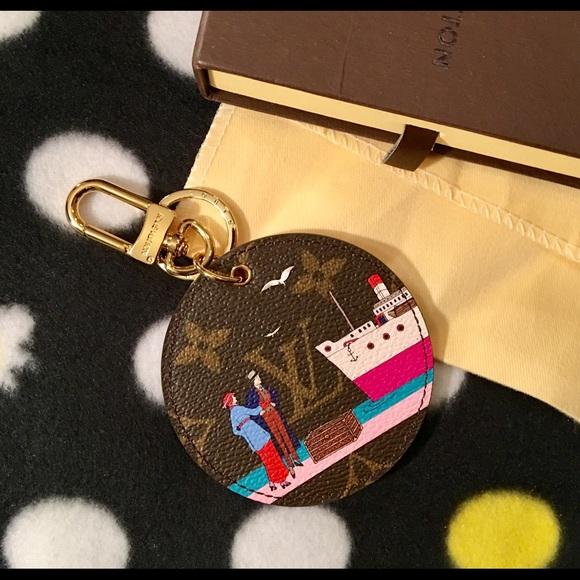 d2ec08723a Louis Vuitton Monogram Illustre Evasion Bag Charm