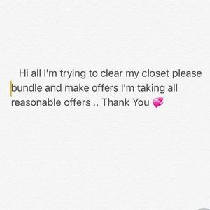 Other - Please Help me Clear my Closet