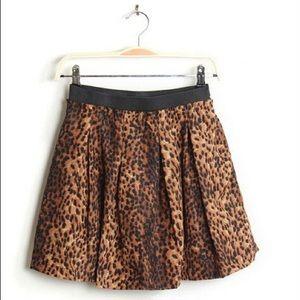 Cute Leopard High waisted Skirt