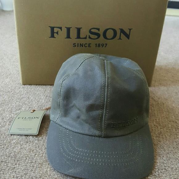 1bc6b6544ff8 Filson Accessories   Nwt Insulated Tin Cloth Cap   Poshmark