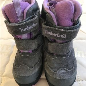 timberland girls waterproof boots sz 11