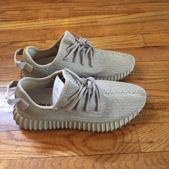 cd7fa0063e4 adidas Shoes - Tan Adidas Yeezy size 8 in Men 9 1 2 in women s