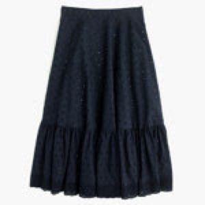 J crew Skirts - J crew clip dot skirt