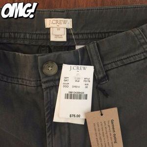 NWT J Crew 100% Cotton Summer Pants Size 00