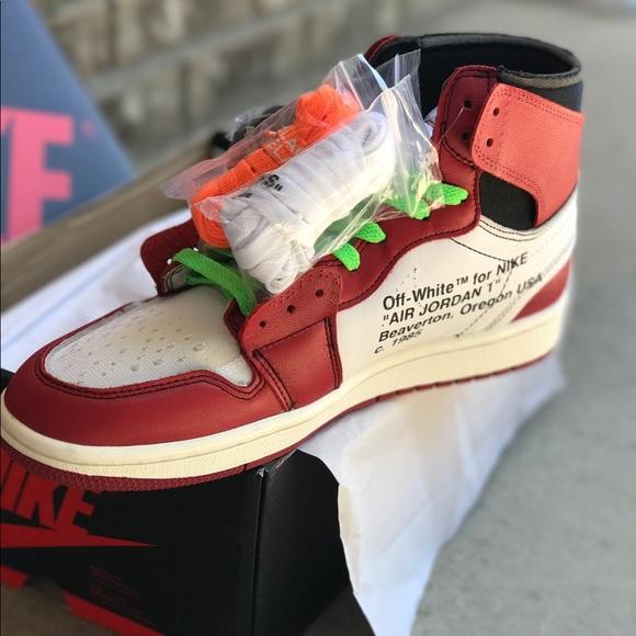 Air Jordan 1 X Off White Size 10