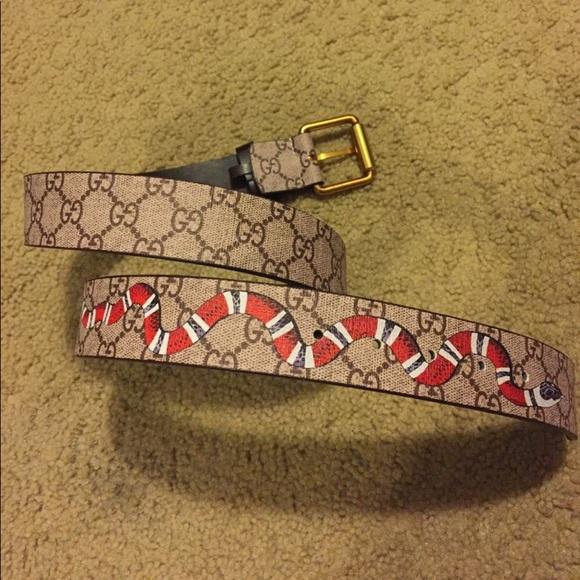fe7afb1b5 Gucci Accessories   Snake Belt   Poshmark