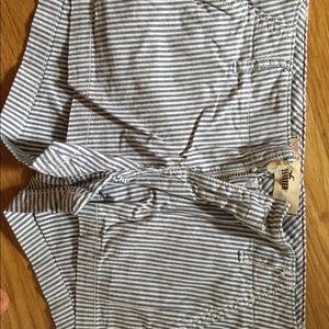 Hollister striped shorts
