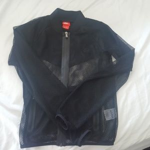 NWOT Nike Black Mesh Jacket