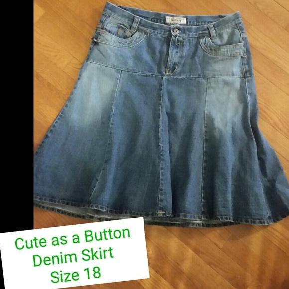 67 no fuze dresses skirts denim skirt