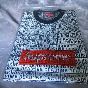 Supreme I'd Rather Be Dead Tee