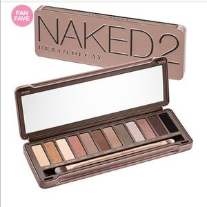 NAKED 2 Pallette barely used