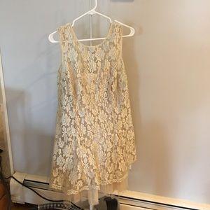 Champange cocktail dress