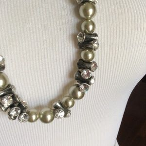JCrew long beaded necklace, nwt