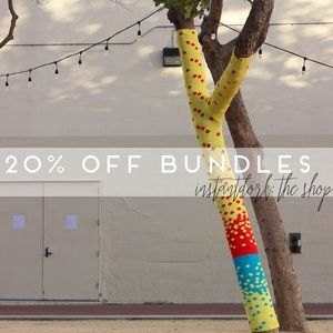20% off bundles • bundle your likes+get an offer