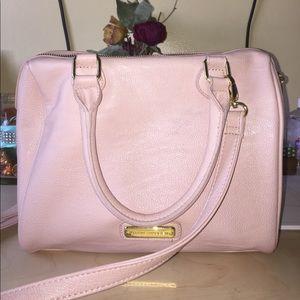 Steve Madden pink studded purse